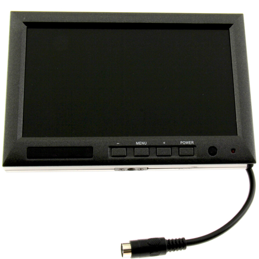 7 inch monitor with plug