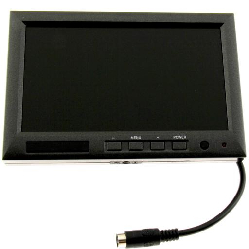 7 inch monitor with plug